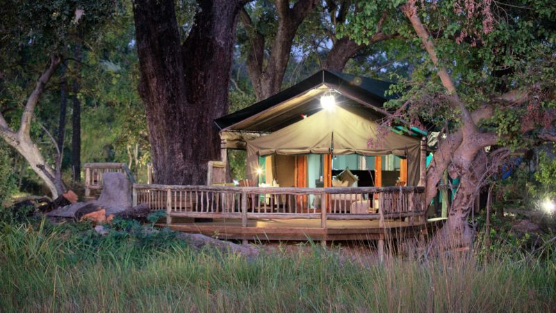 Accommodation Gunns Okavango Delta