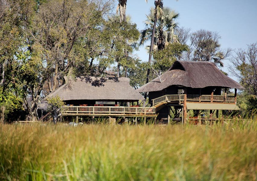 Gunns Camp Okavango Delta