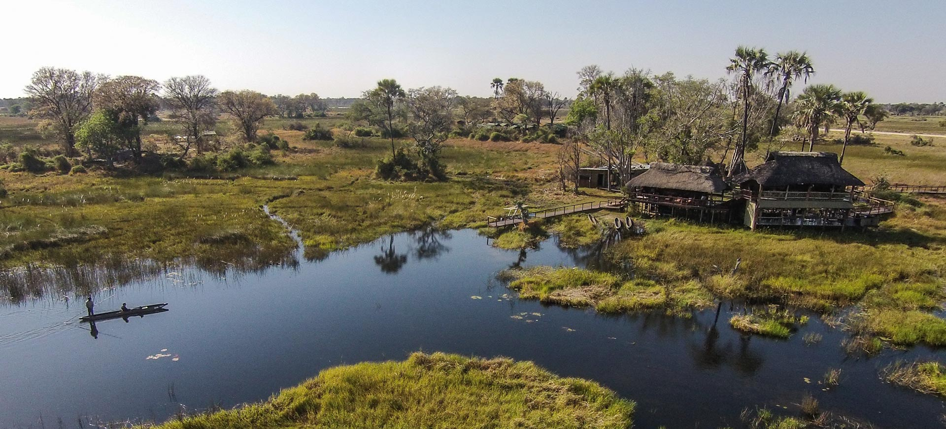 Gunns Okavango Delta Camp