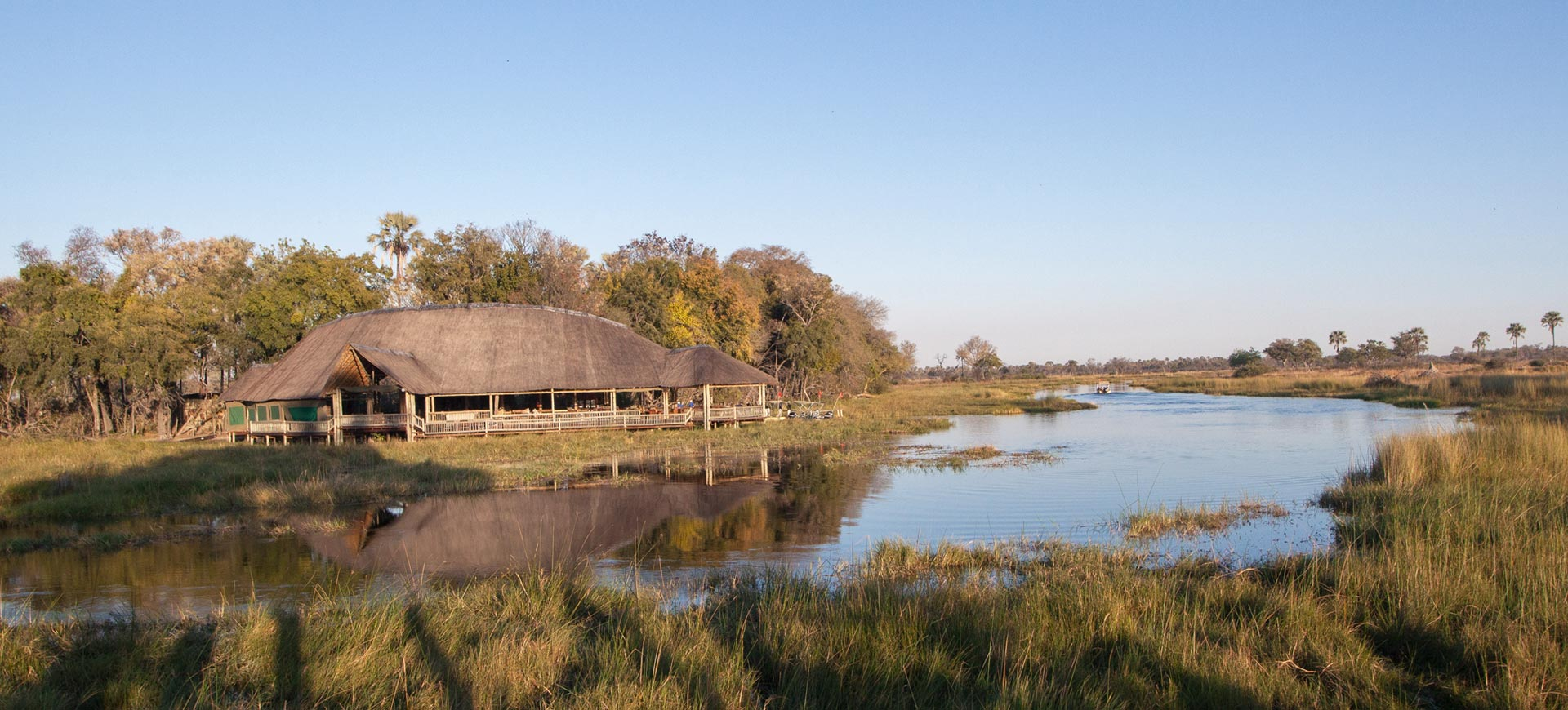 Moremi Crossing Lodge Okavango Delta