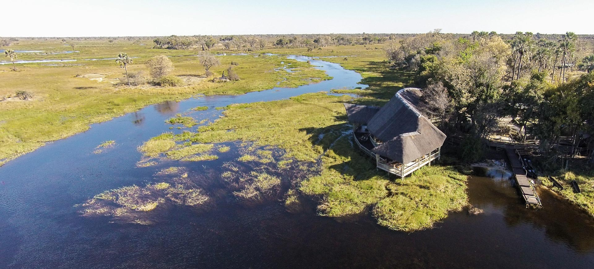 Okavango Delta Moremi Crossing Lodge