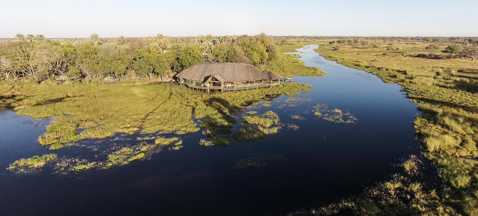 Okavango Delta Moremi Crossing Safari Lodge
