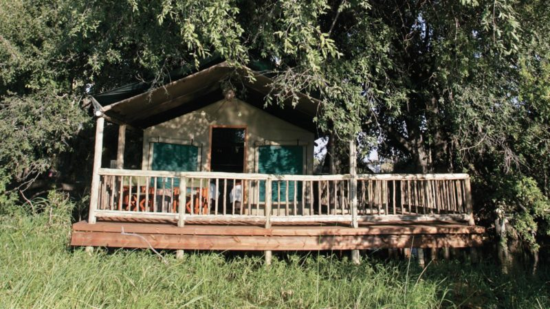 Okavango Delta Eco Lodge Moremi Crossing