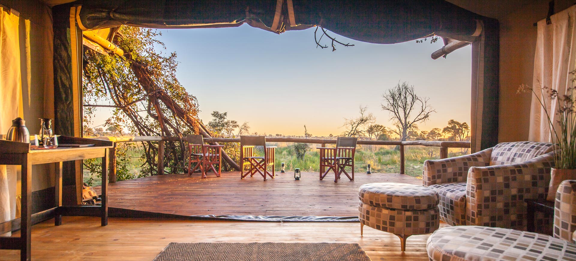Rra Dinare Camp Ecofriendly Okavango Delta Camp