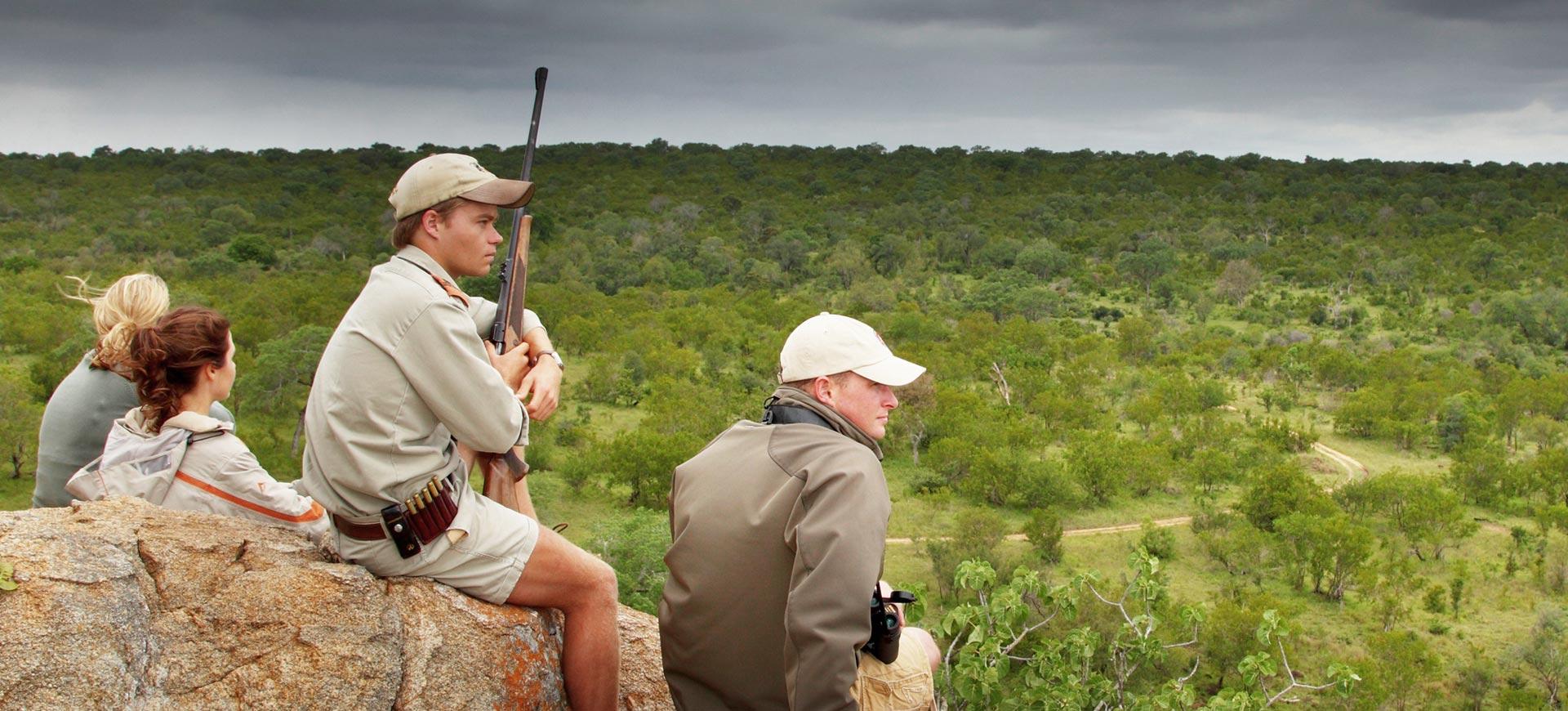 Guided Walking Safari Kruger Park