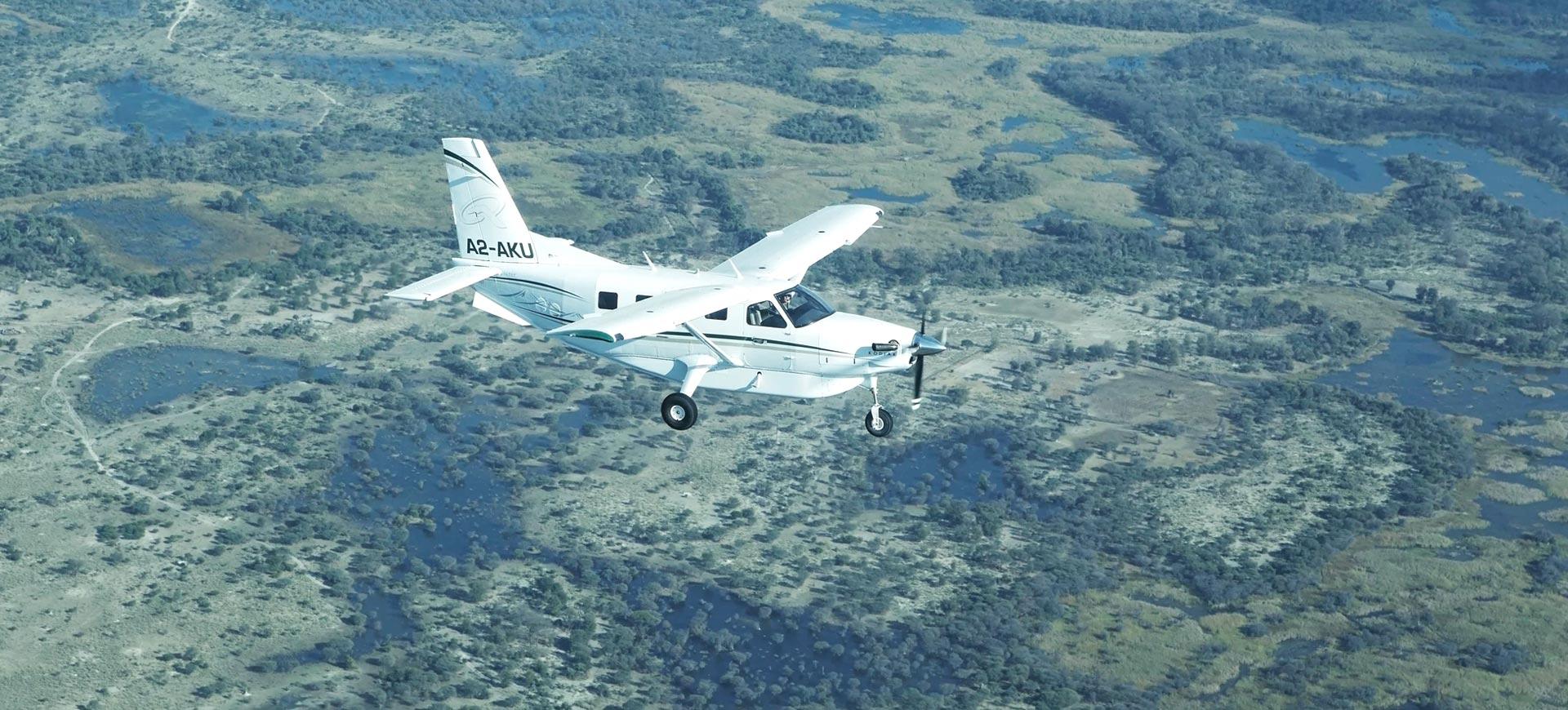 Botswana Travel Flights
